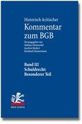 Historisch-kritischer Kommentar zum BGB: Schuldrecht. Besonderer Teil:    433-853, 2 Bde.; Bd.3