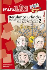 miniLÜK: Berühmte Erfinder 2: Charles Darwin, Thomas Alva Edison, Marie Curie, Albert Einstein
