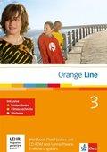 Orange Line: 3. Lernjahr, Workbook Fördern, m. Audio-CD u. CD-ROM (Erweiterungskurs); Bd.3