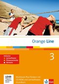 Orange Line: 3. Lernjahr, Workbook Fördern, m. Audio-CD u. CD-ROM (Grundkurs); Bd.3