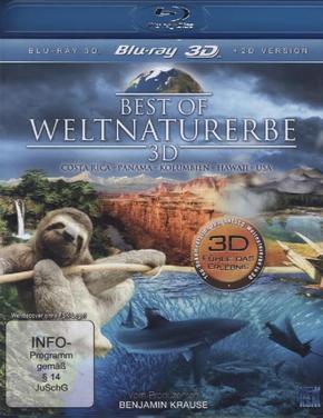Best of Weltnaturerbe 3D Fühle das Erlebnis, 1 Blu-ray