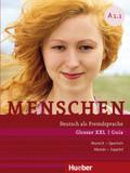 Menschen - Deutsch als Fremdsprache: Glossar XXL Deutsch-Spanisch, Guía Alemán-Español; Bd.A1.1