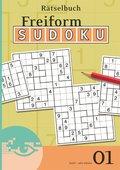 Freiform-Sudoku Rätselbuch - Bd.1