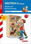 Diktate und Rechtschreibung, 4. Klasse, m. MP3-CD