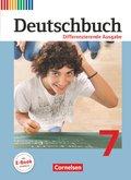 Deutschbuch, Differenzierende Ausgabe: 7. Schuljahr, Schülerbuch