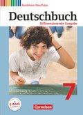 Deutschbuch, Differenzierende Ausgabe Nordrhein-Westfalen: 7. Schuljahr, Schülerbuch
