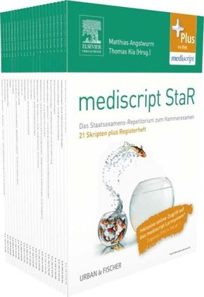 mediscript StaR Medizin-Paket - 21 Skripten plus Registerheft