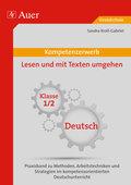Kompetenzerwerb: Lesen und Schreiben lernen, Klasse 1/2, Deutsch