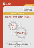 Kompetenzerwerb: Lesen und mit Texten umgehen, Klasse 3/4, Deutsch