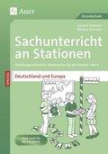 Sachunterricht an Stationen SPEZIAL - Deutschland und Europa