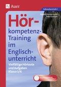 Hörkompetenz-Training im Englischunterricht: Klasse 5/6, m. CD-ROM