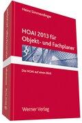 HOAI für Objekt- und Fachplaner