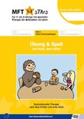 MFT 4-8 Stars - Für 4- bis 8-Jährige mit spezieller Therapie der Artikulation von s/sch - Übung & Spaß mit Muki, dem Aff - H.2