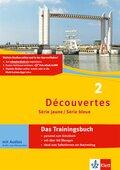 Découvertes - Série jaune / Série bleue: Das Trainingsbuch, m. Audio-CD; Bd.2