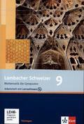 Lambacher-Schweizer, Ausgabe Thüringen, Neubearbeitung (2009): 9. Schuljahr, Arbeitsheft m. CD-ROM