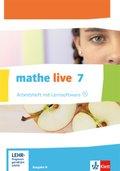 mathe live, Ausgabe N: 7. Schuljahr, Arbeitsheft mit CD-ROM
