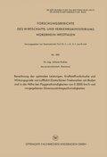 Berechnung der optimalen Leistungen, Kraftstoffverbräuche und Wirkungsgrade von Luftfahrt-Gasturbinen-Triebwerken am Bod