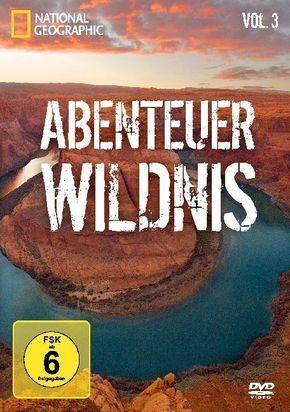 National Geographic - Abenteuer Wildnis, Vol.3 (1 DVD)