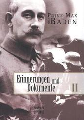 Erinnerungen und Dokumente - Bd.2