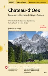 Landeskarte der Schweiz Château-d'Oex