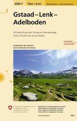 Landeskarte der Schweiz Gstaad - Lenk - Adelboden