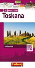 Hallwag Flash Guide Toskana