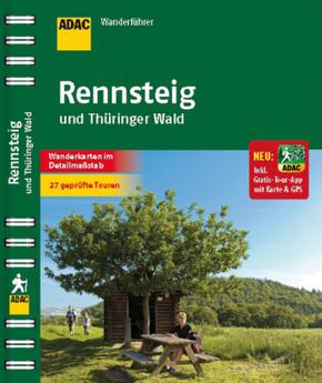 ADAC Wanderführer Rennsteig und Thüringer Wald