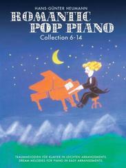 Romantic Pop Piano Collection, für Klavier - Bd.6-14