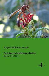 Beiträge zur Insektengeschichte