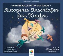Autogenes Einschlafen für Kinder, 1 Audio-CD