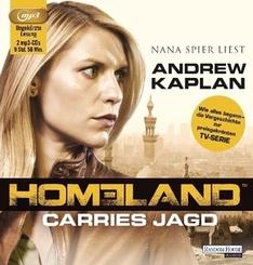 Homeland: Carries Jagd, 2 MP3-CDs