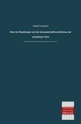 Über die Morphologie und die Verwandschaftsverhältnisse der wirbellosen Tiere