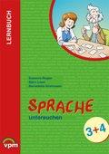 Lernbuch Sprache untersuchen: Arbeitsheft 3./4. Schuljahr