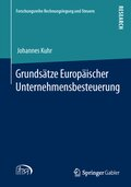 Grundsätze Europäischer Unternehmensbesteuerung