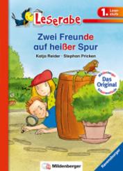 Zwei Freunde auf heißer Spur - Leserabe 1. Klasse - Erstlesebuch für Kinder ab 6 Jahren