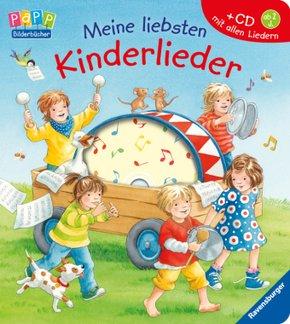 Meine liebsten Kinderlieder, m. Audio-CD