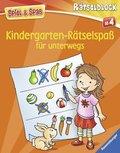 Kindergarten-Rätselspaß für unterwegs