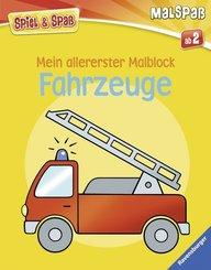 Mein allererster Malblock: Fahrzeuge