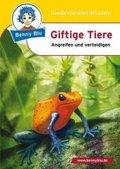 Benny Blu: Giftige Tiere; Bd.281