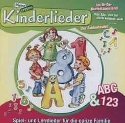 Meine ersten Kinderlieder - ABC & 123, 1 Audio-CD