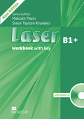 Laser B1+, New Edition: Workbook with key and Audio-CD