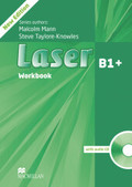 Laser B1+, New Edition: Workbook without key, with Audio-CD