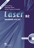 Laser B2, New Edition: Workbook w. Audio-CD and Key