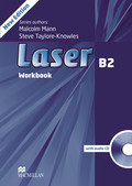 Laser B2, New Edition: Workbook w. Audio-CD without Key