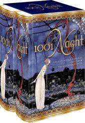 1001 Nacht (2 Bände, Vollständige Ausgabe) - Schuber eingerissen
