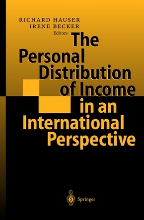 The Personal Distribution of Income in an International Perspective