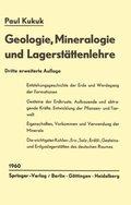 Geologie, Mineralogie und Lagerstättenlehre