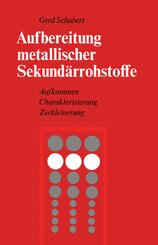 Aufbereitung metallischer Sekundärrohstoffe