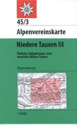 Alpenvereinskarte Niedere Tauern - Tl.3
