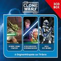 Star Wars, The Clone Wars - Hörspielbox, 3 Audio-CDs - Vol.1